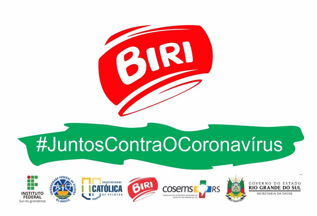 Colaboração entre Biri, UFPEL, UCPEL e IFSUL no combate ao Coronavírus (COVID-19)
